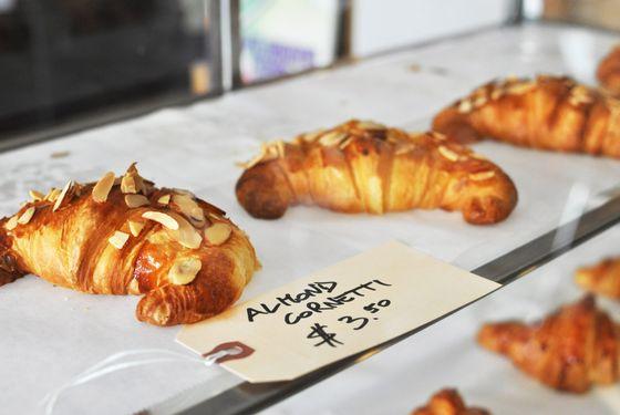 The texture of cornetti is closer to brioche than croissant dough.