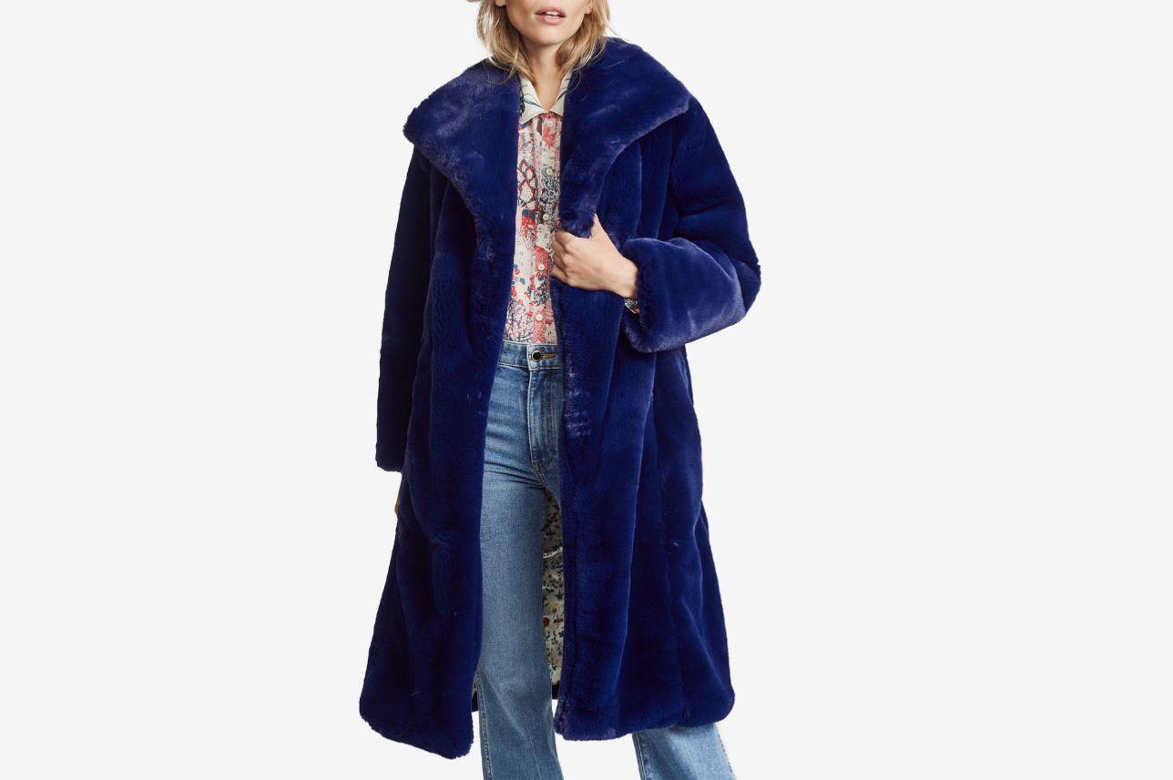 52712d8d346cf Samantha Pleet Sovereign Faux Fur Coat