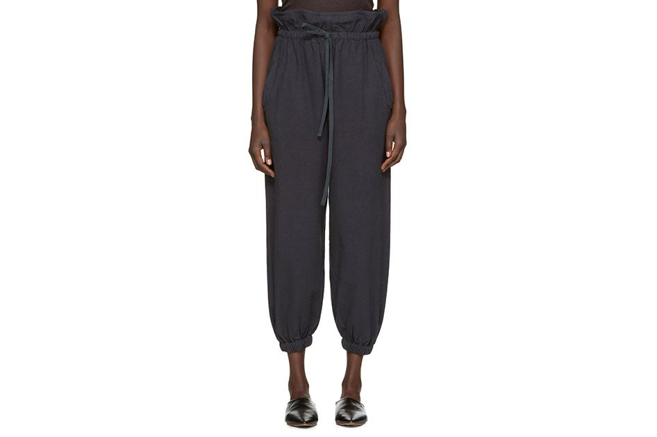 Lauren Manoogian Black Lantern Trousers