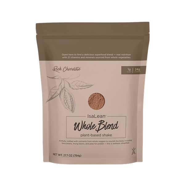 Isagenix Plant-Based Protein Blend Isalean Shake, 1.7 lb.