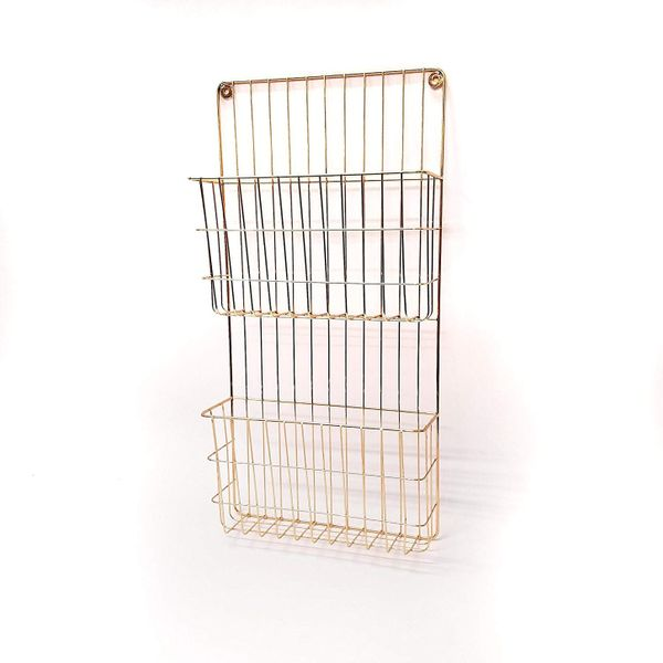 Two Tier Wall File Holder