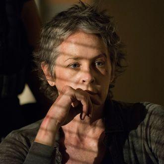 Melissa McBride as Carol Peletier - The Walking Dead _ Season 5, Episode 8 - Photo Credit: Gene Page/AMC