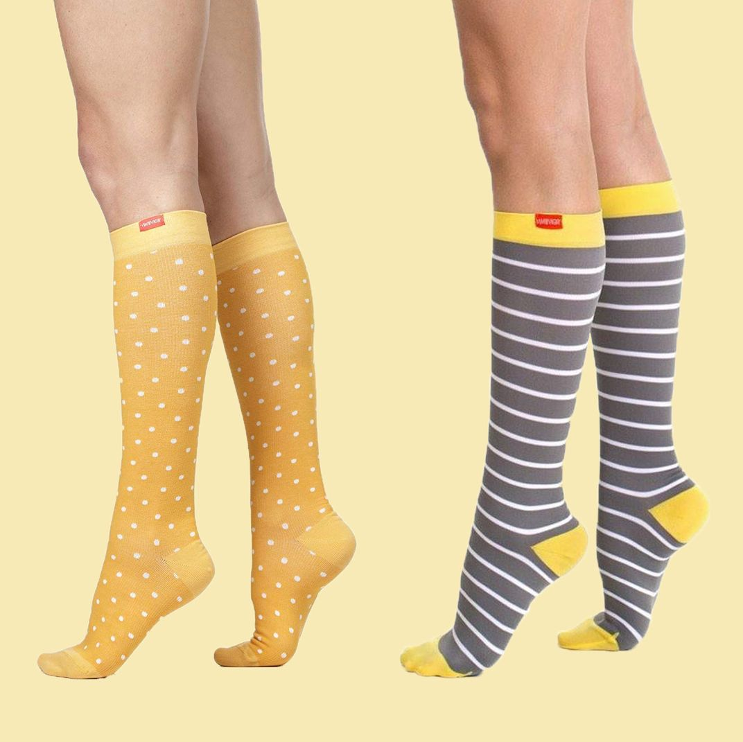 Patterned Compression Socks Unique Decoration
