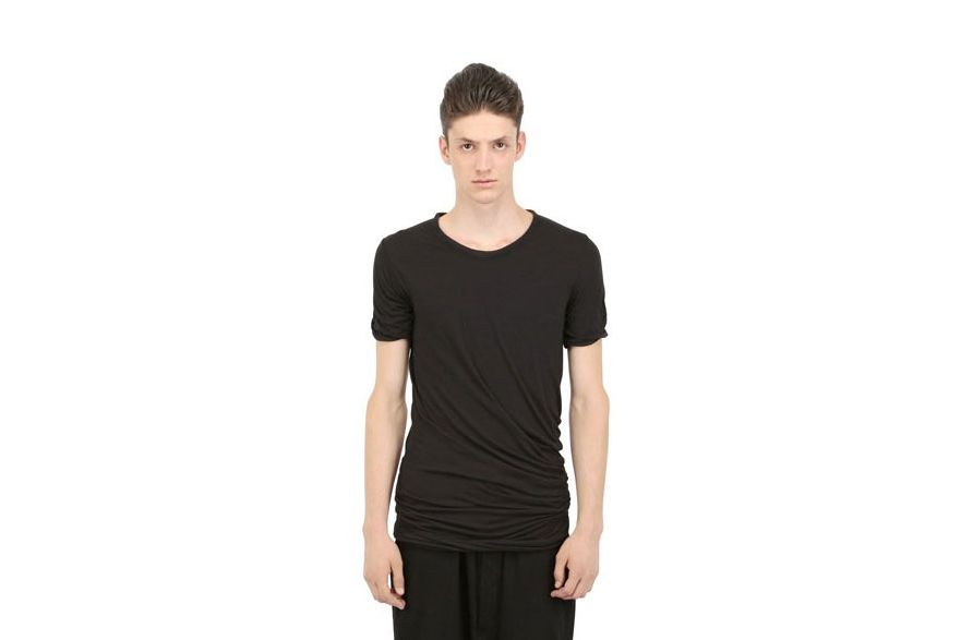 Rick Owens Double Layer Twist T-Shirt