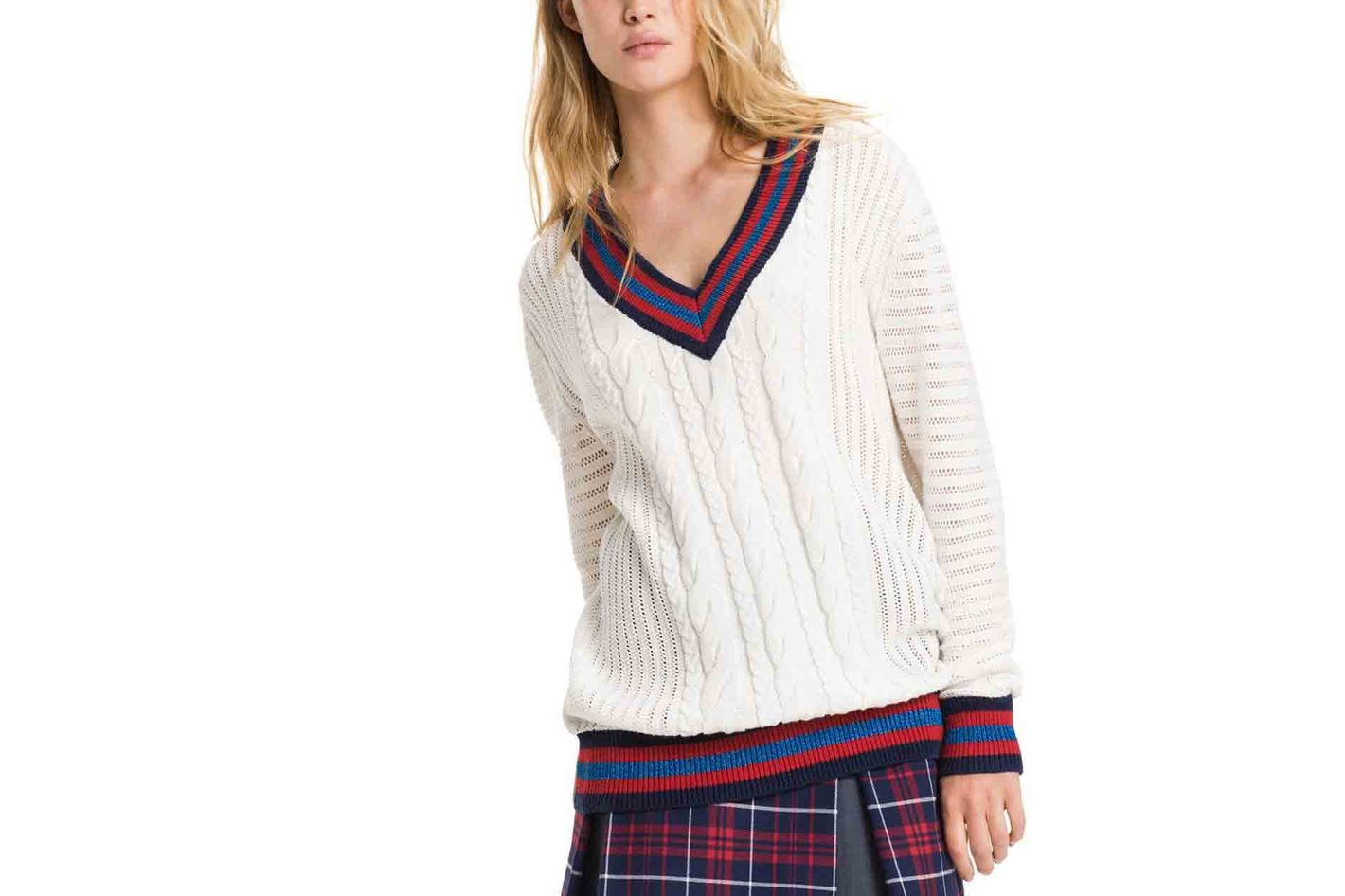 Tommy Hilfiger Varsity Cable Sweater