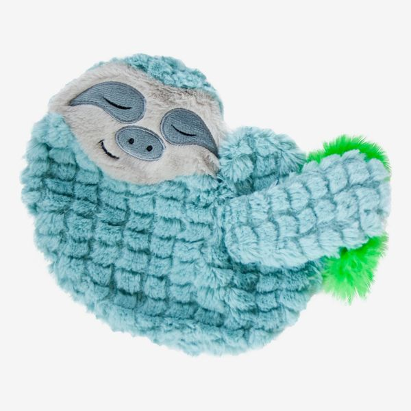 Petstages Purr Pillow Snoozin' Sloth Calming Plush Cat Toy