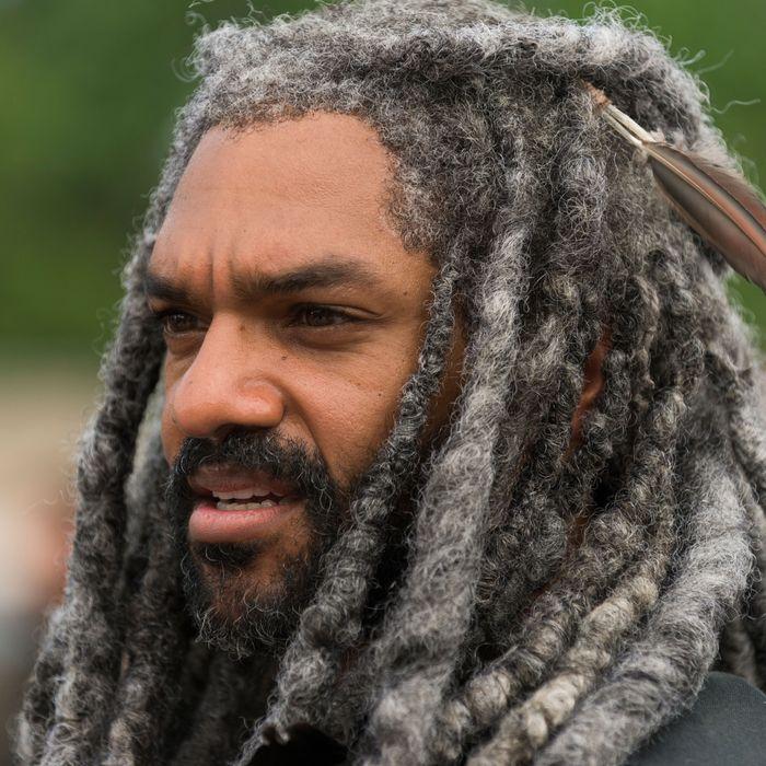 Khary Payton as Ezekiel- The Walking Dead _ Season 7, Episode 2 - Photo Credit: Gene Page/AMC