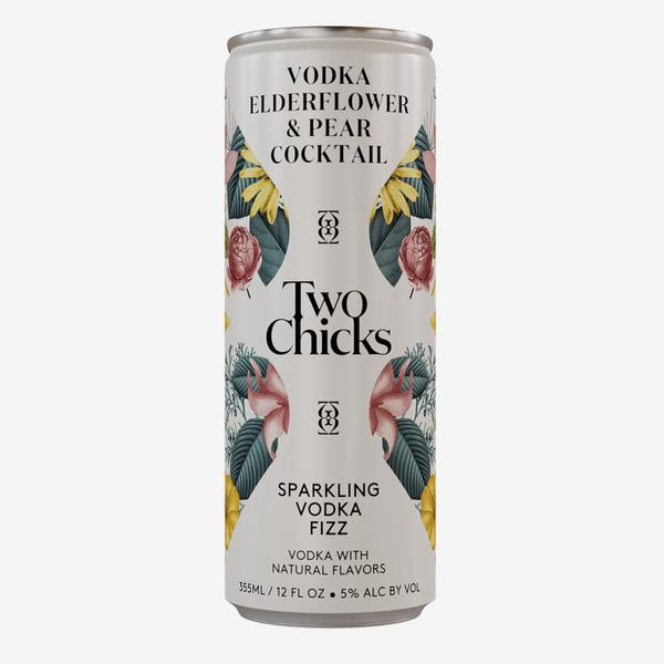 Two Chicks Vodka Fizz, 4-pack