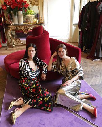 daf37d3bb2542 Giorgia Tordini and Gilda Ambrosio of Attico on Their Taste