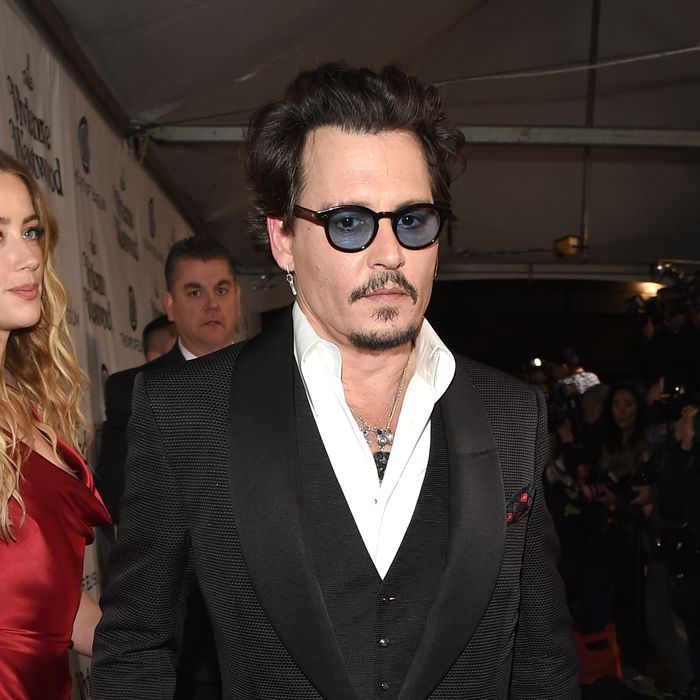 Johnny Depp. Photo: Jason Merritt/Getty Images for Art of Elysium