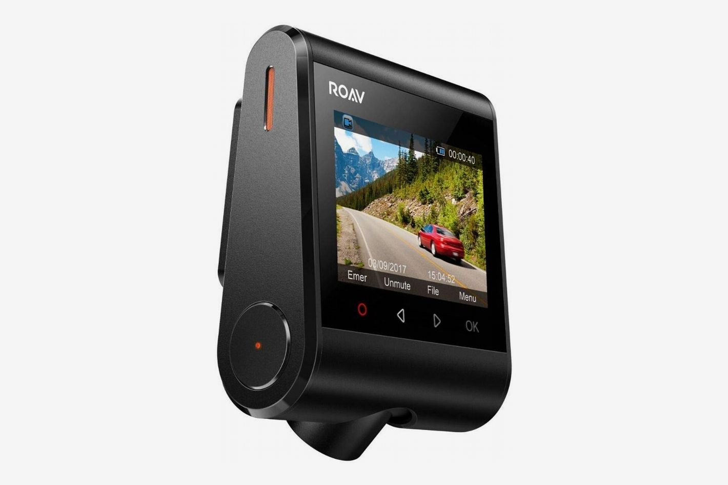 "ROAV DashCam C1 by Anker, 2.4"" Screen, 1080p Full HD, 4-Lane Wide-Angle View Lens, Built-in WiFi"