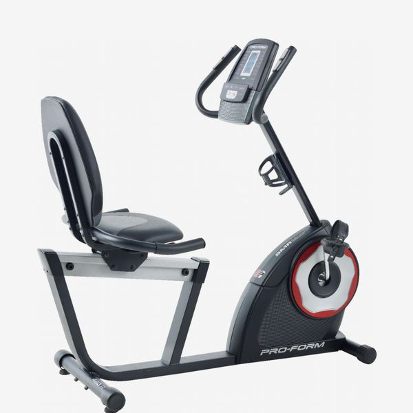 ProForm 460 R Exercise Bike, Silver/BlackRed