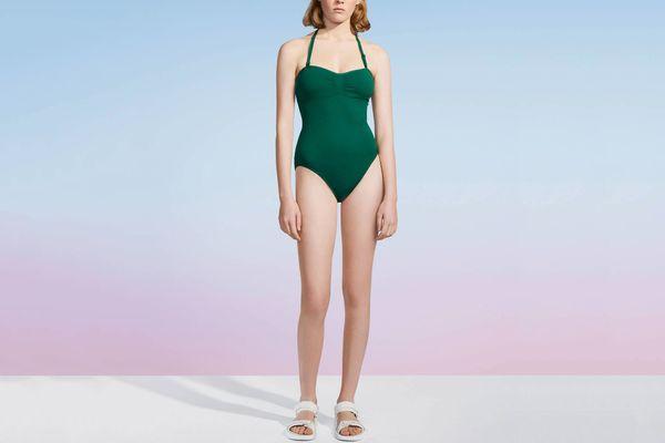 Women U Swim Halter One-Piece