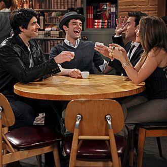PARTNERS, starring (l-r) Brandon Routh, Michael Urie, David Krumholtz and Sophia Bush, premieres Monday, Sept. 24 (8:30 PM- 9:00 PM, ET/PT) on the CBS Television Network.