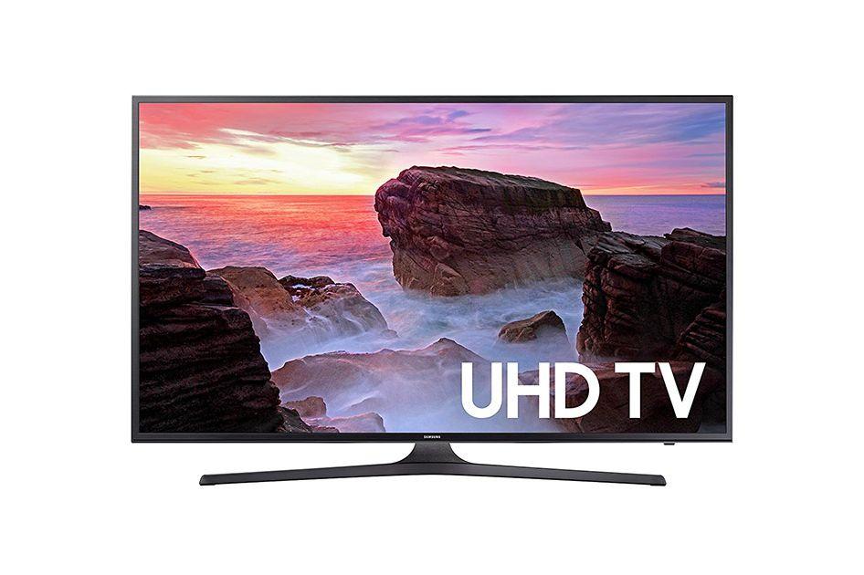 Samsung Electronics UN40MU6300 40-Inch 4K Ultra HD Smart LED TV (2017 Model)