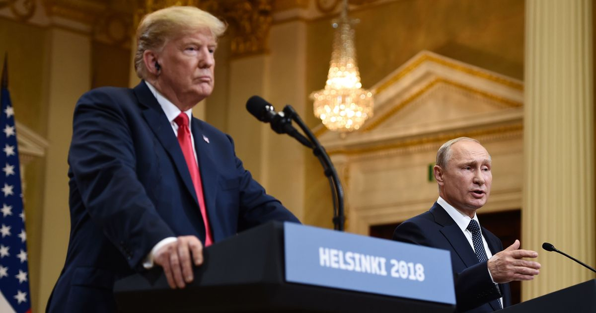 nymag.com - Jonathan Chait - Trump Is Fighting the Entire Republican Party to Defend Putin