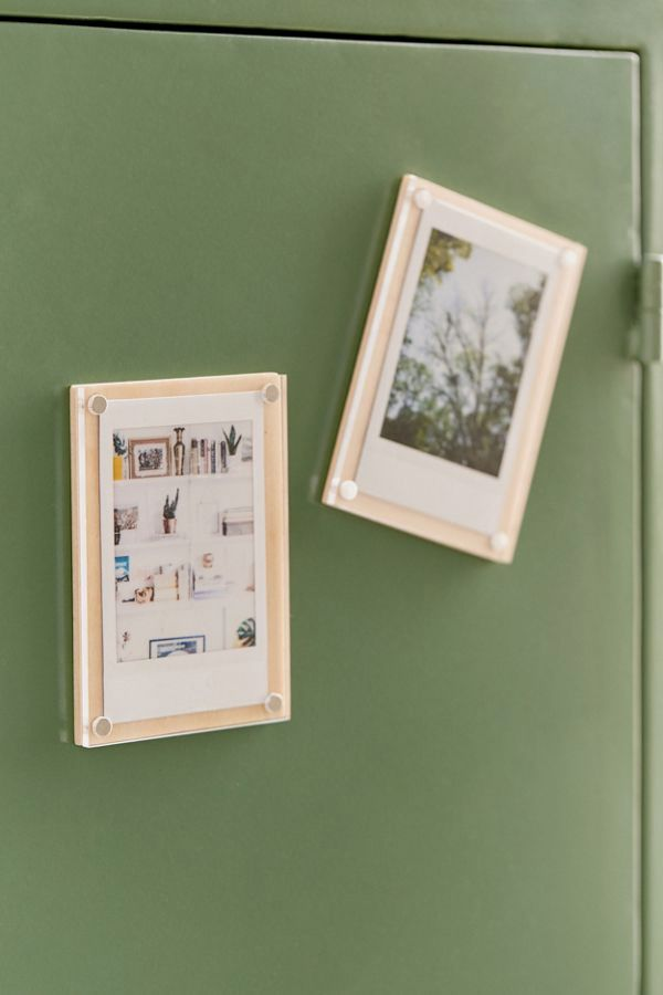 Instax Wood Photo Magnet