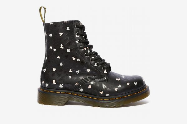 Dr. Martens 1460 Pascal Wild Hearts Lace Up Boots