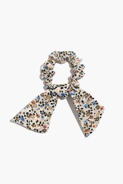 Madewell Antique Cream Multi Bow Scrunchie