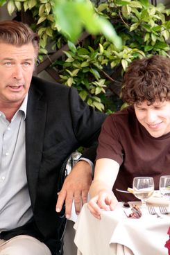 Cast and crew on the 'Bop Decameron' film set in Rome, Italy.         <P>         Pictured: Alec Baldwin and Jesse Eisenberg         <P>         <B>Ref: SPL299894  260711  </B><BR/>         Picture by: quadrini / Splash News<BR/>         </P><P>         <B>Splash News and Pictures</B><BR/>         Los Angeles:310-821-2666<BR/>         New York:212-619-2666<BR/>         London:870-934-2666<BR/>         photodesk@splashnews.com<BR/>         </P>
