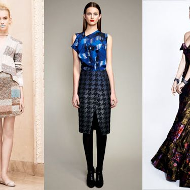 Pre-Fall looks from Thakoon, Ports 1961, and Zac Posen.