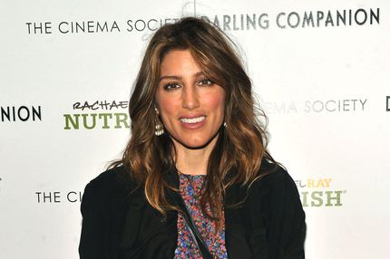 "Actress Jennifer Esposito attends the Cinema Society and Rachael Ray Nutrish With Grey Goose Cherry Noir hosted screening of ""Darling Companion"" at Tribeca Grand Hotel on April 9, 2012 in New York City."