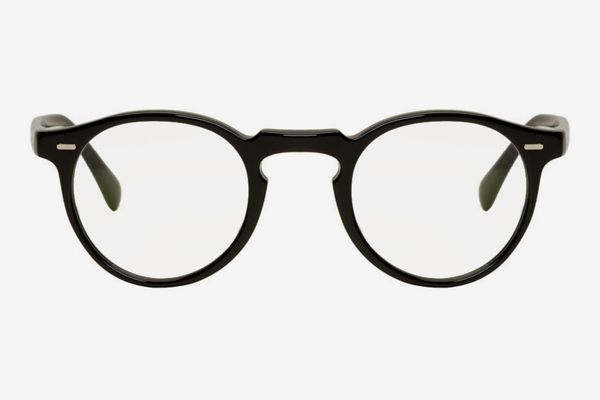 Oliver Peoples Black Gregory Peck Glasses
