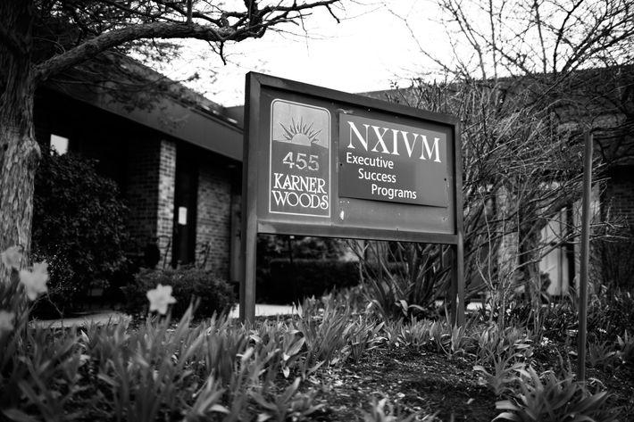 NXIVM headquarters in Albany, New York.