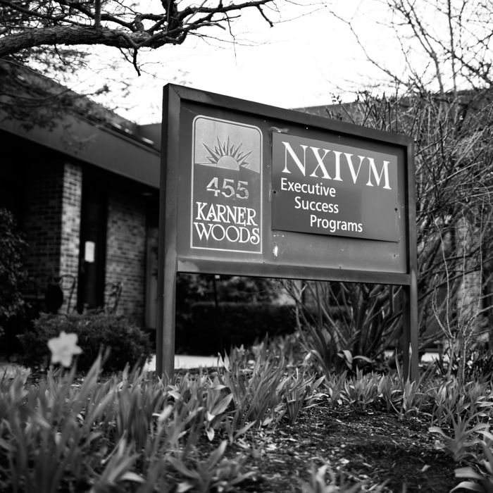 NXIVM headquarters in Albany, New York.