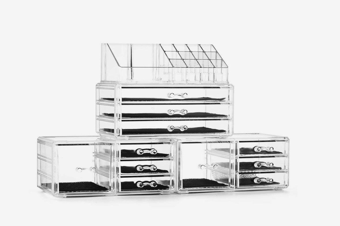 Acrylic Jewelry and Cosmetic Storage Boxes