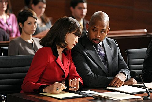 """Gloves Come Off"" -- Alicia (Julianna Margulies) and Julius (Michael Boatman) represent a man who was injured and lost his wife in a snowmobile accident, but they must prove that his former career playing professional hockey did not impair his ability to drive the vehicle, on THE GOOD WIFE, Sunday, March 18 (9:00-10:00 PM ET/PT) on the CBS Television Network. Photo: David M. Russell/CBS ©2012 CBS Broadcasting, Inc. All Rights Reserved"