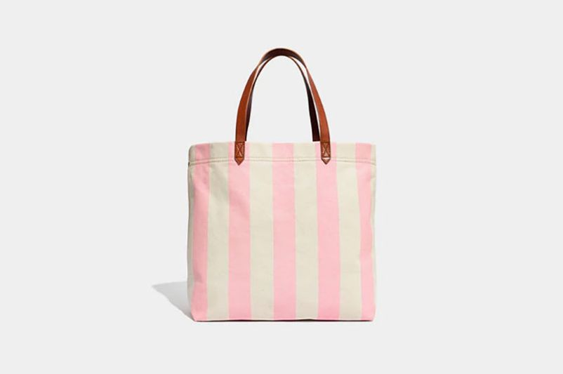 Madewell Canvas Transport Tote in Stripe