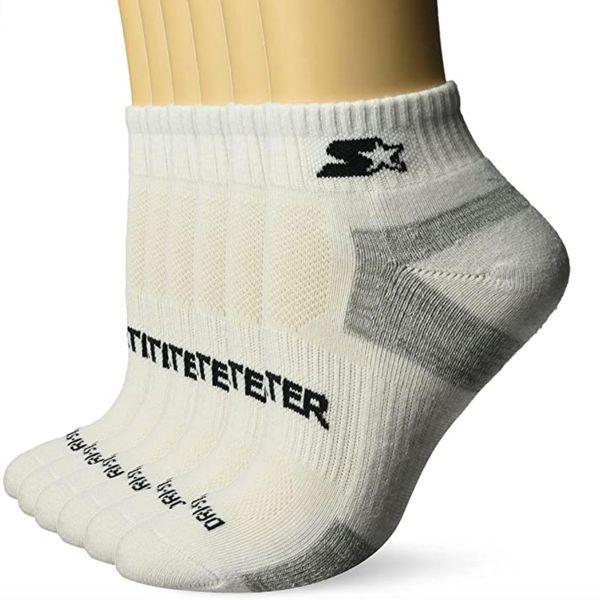 Starter Women's 6-Pack Quarter-Length Athletic Socks