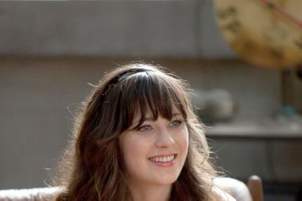 NEW GIRL:  The new comedy starring Zooey Deschanel as an adorkable girl who moves in with three single guys, changing their lives in unexpected ways, premieres Tuesday, Sept. 20 (9:00-9:30 PM ET/PT) on FOX.  ©2011 Fox Broadcasting Co.  Cr:  Isabella Vosmikova/FOX