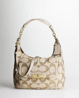 Coach Kristin Signature Large Hobo