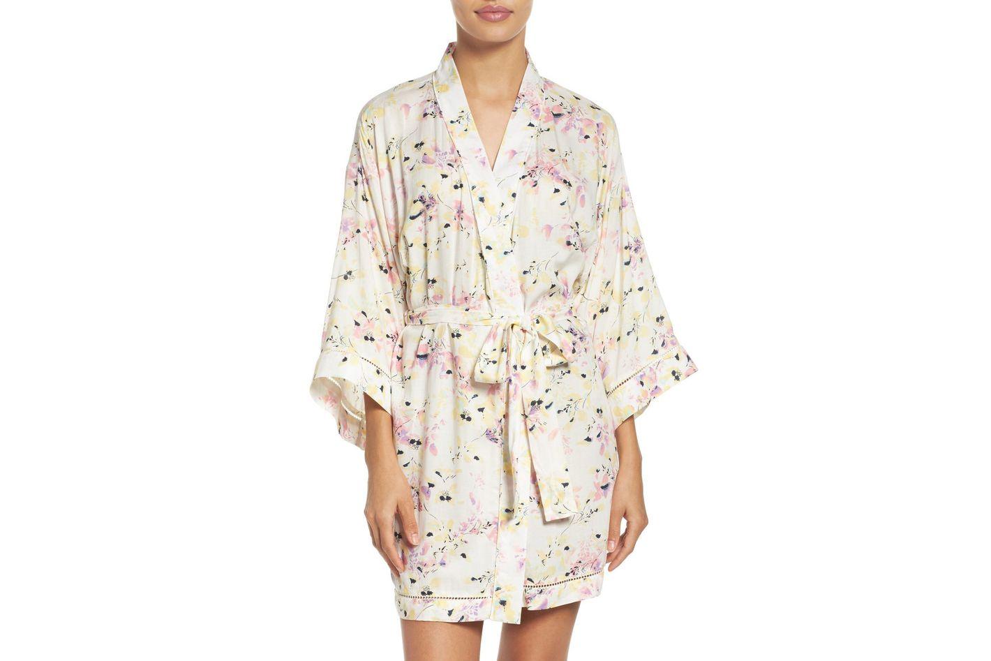Sweet Dreams Print Robe