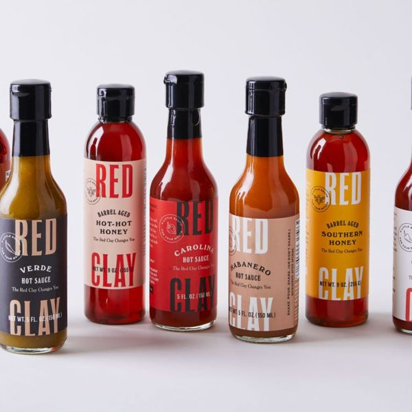 Red Clay Cold-Pressed Hot Sauce & Spicy Honey