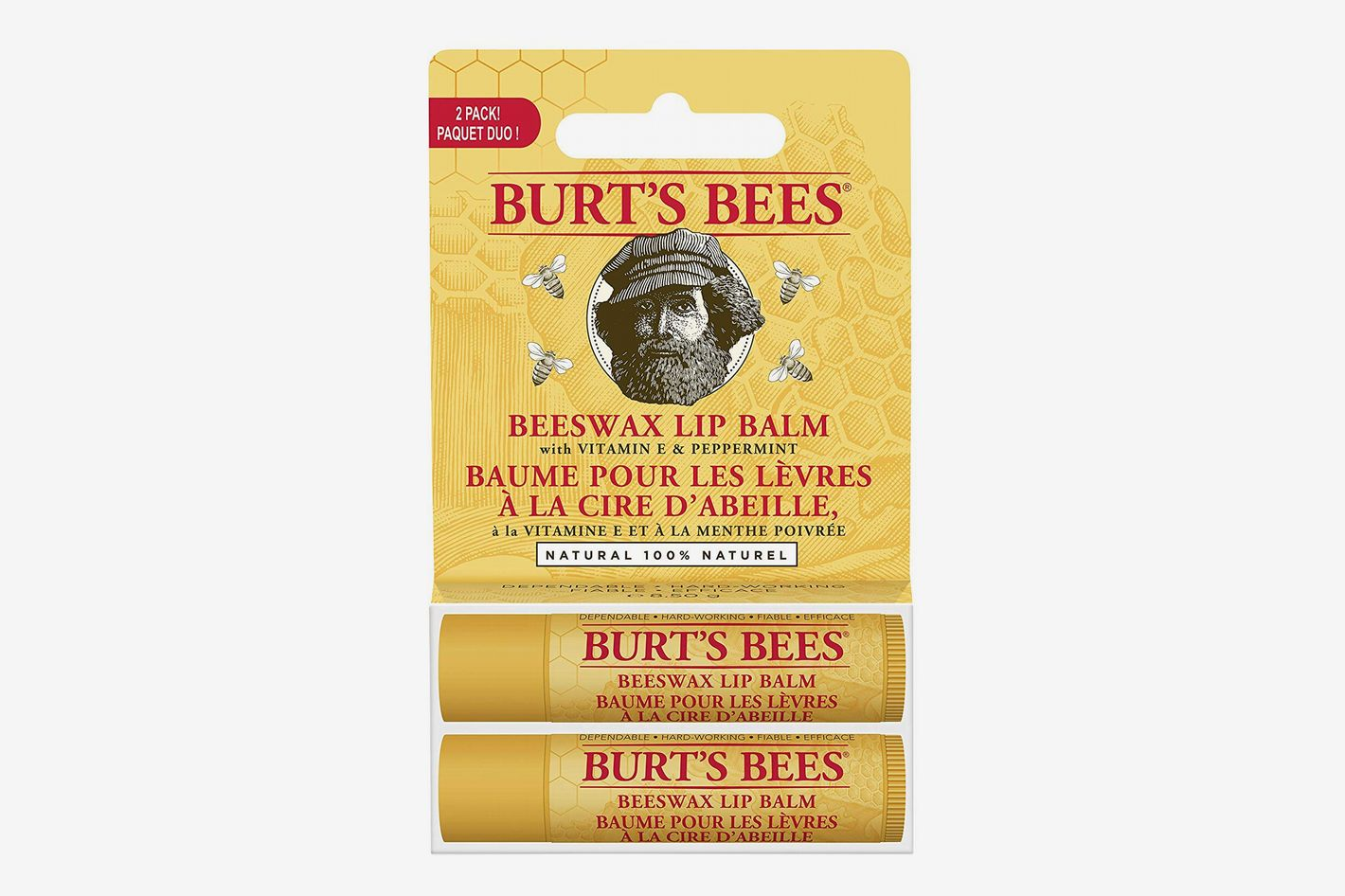 Burt's Bees 100 Percent Natural Moisturizing Lip Balm