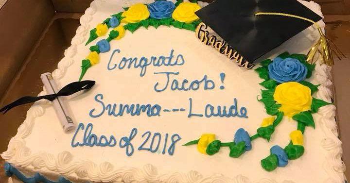 Publix Removes Cum From Grads Summa Laude Cake