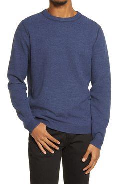 Treasure & Bond Textured Crewneck Sweater