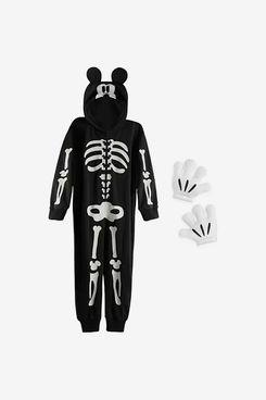 Mickey Mouse Kids Glow-in-the-Dark Skeleton Costume