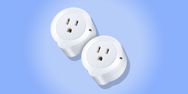Etekcity WiFi Smart Plug Mini Outlet With Energy Monitoring (2 Pack)