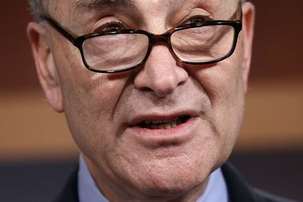 Sen. Charles Schumer (D-NY) speaks about the possibility of a payroll tax cut extension