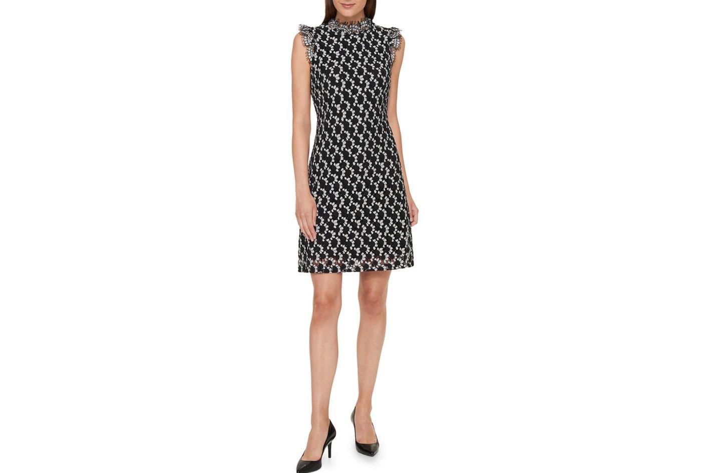 Tommy Hilfiger Petal Lace Sheath Dress