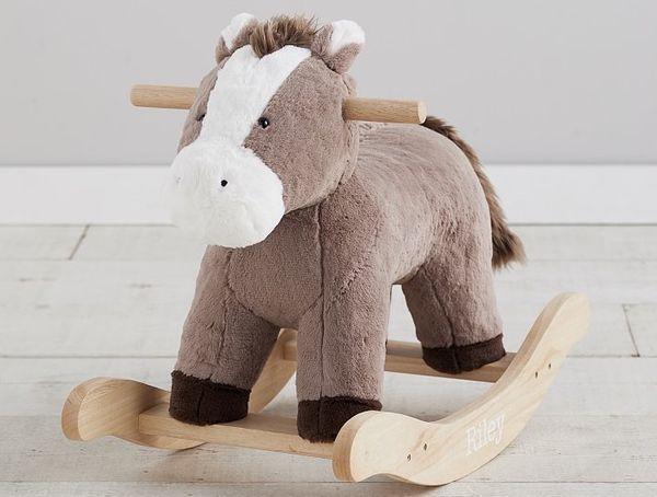 Horse Plush Nursery Rocker