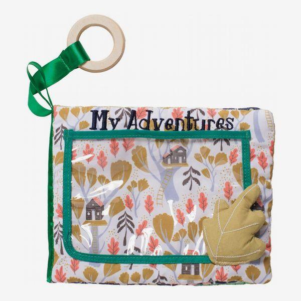 Manhattan Toy Camp Acorn Soft Photo Book Baby Toy