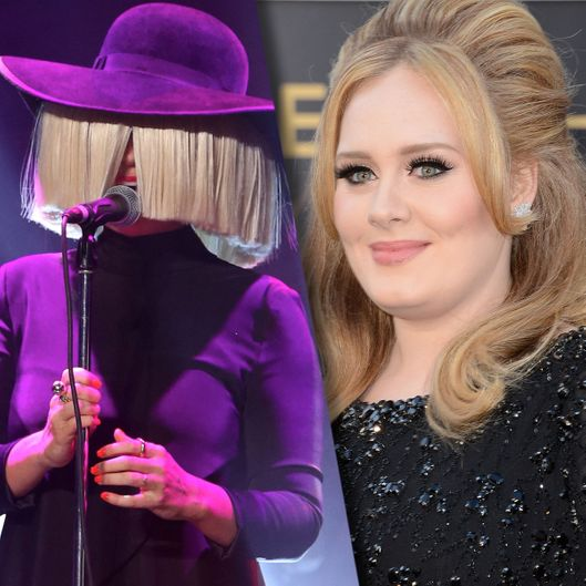 Hear Sia S New Song Alive Written For Adele Vulture