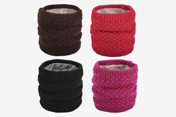 Flygo Women's Winter Knitted Neck Warmer