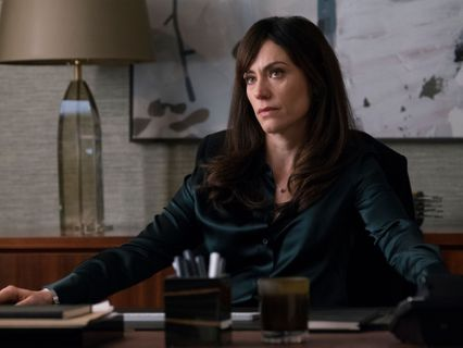 Maggie Siff as Wendy Rhoades on Billions.