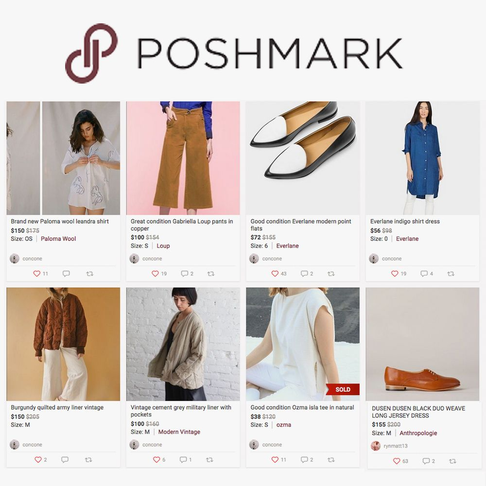 13d43aac4a0f Re-commerce Apps and Resale: Depop, Poshmark, The Real Real
